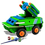 3D Puzzle Bfun Wood 3D Puzzles Antiaircraft Missile Toy 3D Woodcraft Kit Assemble Paint DIY Toys for Kids Adults the Best Birthday Gift Best in Activity Play Centres