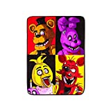Five Nights at Freddy's Throw Blanket