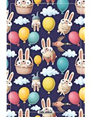 Easter Notebook: Easter Notebook or Journal for Kids: Easter Gifts For Girls or Kids: Blank Lined Pages: 6 x 9 inches