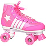 Epic Skates Star Carina Indoor/Outdoor High-Top Quad Roller Skates