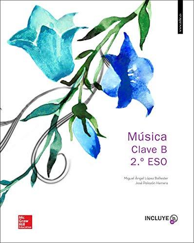 Música Clave B. Valencià. Alumne. 2N ESO (+ 2 CD) - 9788448610500