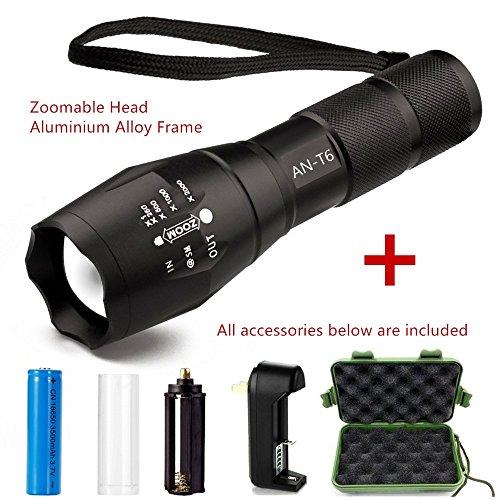 Linkax UV LED Flashlight Black Light Torch 9 Ultraviolet 395