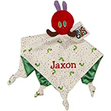 Personalized Monogrammed ERiC CARLE Caterpillar Security Blanket Blanky Toy