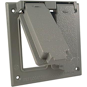 Taymac Tb7100s Electrical Box 3 Gang Die Cast Aluminum 1