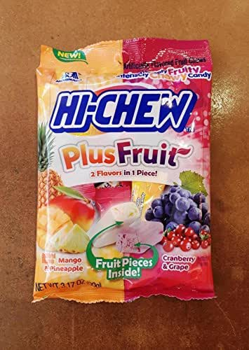 Gummy Candies: Hi-Chew Plus Fruit