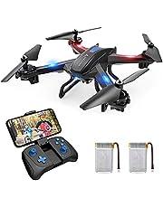 SNAPTAIN S5C Drone avec Caméra HD 720P WiFi FPV Helicoptère Télécommandé avec Mode sans Tête, Maintien d'altitude,Vol de Trajectoire, 360°Flips pour Les Débutants et Les Enfants
