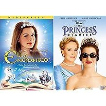 Anne Hathaway Princess Collection - Disney's The Princess Diaries (Full Frame) & Ella Enchanted 2-DVD Bundle