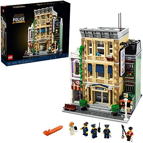LEGO Police Station 10278 Building Kit; A Highly Detailed Displayable Model for Adults, New 2021 (2,923 Pieces)
