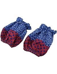 Win Child Elastic Sleeve Cuff Short Oversleeve Sleevelet Pair Royal Blue compare