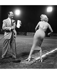 Marilyn Monroe opening baseball game
