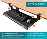 Stand Up Desk Store Large Clamp-On Retractable