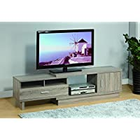 47 - 70 Smart Home Dark Taupe Entertainment Console TV Stand