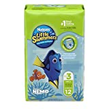 HUGGIES LITTLE SWIMMERS, Disposable Swim Diaper, Small 12ct