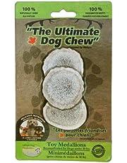 Urban Dog Ultimate Dog Chew Toy Mediallion, 3-Pack