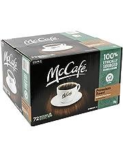 72 K-Cups. McCafé® Premium Medium Dark Roast Fine Ground Coffee, 72 Recyclable, K-Cup Pods, 10.75g Each. for Keurig Brewers.