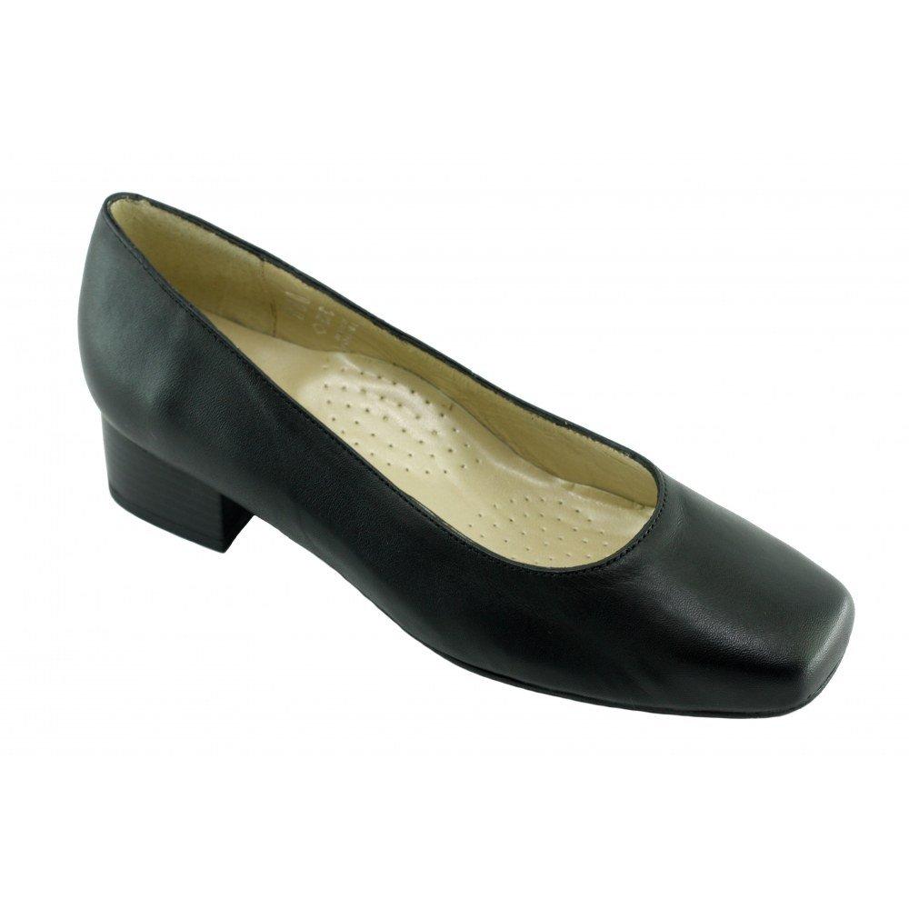 Zapatos Anchos de Tacón Negro Azafatas Bora-Bora 41 EU|C-negro