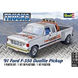 Revell 85-4376 91 Ford F-350 Duallie Pickup Model Kit