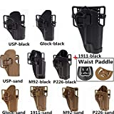 FIRECLUB Tactical CQC Compact Handgun Belt Holster
