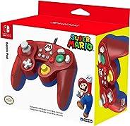Control Alámbrico Battle Pad para Nintendo Switch - Mario Edition