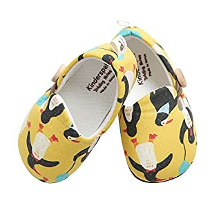 Kinderspel Baby Walker Shoes. Non-Slip Walking Shoes. Baby's First Shoes. Boutique Quality Baby Dress Shoes for Toddlers and Babies. (Melina Alvin - Toddler 5)