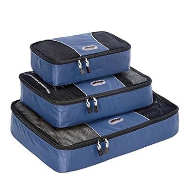 eBags Packing Cubes - 3pc Set (Denim)