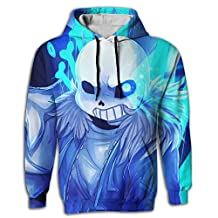 LOCPM LICOPC Pullover Hoodie Undertale 3D Printed Trend Mens Hoodie Sweater