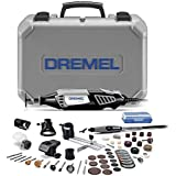 Dremel 4000-6/50 High Performance Rotary Tool Kit with Flex Shaft- 6 Attachments & 50 Accessories- Grinder, Mini Sander, Poli