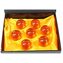 New Collectible Medium Crystal Glass 7 Stars Balls - 7 Pcs with Gift Box (43 MM in Diameter)