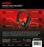 Gioteck XH50 Red Wired Mono Headset