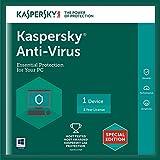 Kaspersky Anti-Virus Latest Version - 1 PC, 1 Year (CD)