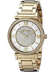 Michael Kors Womens Catlin Gold-Tone Watch MK3332