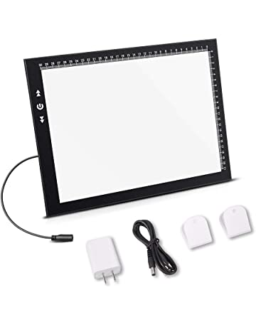 A4 Led Light Box Light Pad New Improved Structure Touch Dimmer 8W Super Bright Max 3800