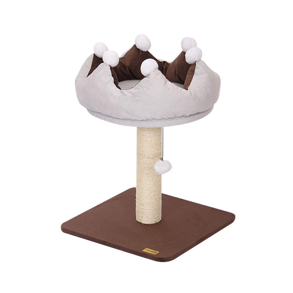 Cat Trees Cat Tree Tower, Plush Natural Sword Cat Tree Cat Climbing Frame Wear-Resistant Scratch-Resistant Durable A1 Cat Houses