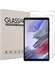 """[2-Pack] Temper Glass Screen Protector Compatible with Samsung Galaxy Tab A7 Lite 8.7"""" (Model: SM-T220/ T225), 9H Hardness Crystal Clear Screen Protector for Samsung A7 Lite 2021 Release [Bubble Free][Anti-Fingerprint]"""