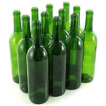 Green Wine Bottles, 750 ml Capacity