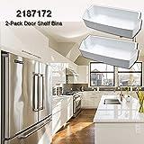 2187172 Door Shelf Bin for Whirlpool Kenmore