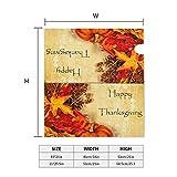 Thanksgiving Retro Pumpkin Maple Mailbox