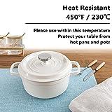 Home Brilliant Placemats Set of 6 Heat Resistant