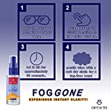 Optix 55 Anti-Fog Spray for Non-Reflective Lenses