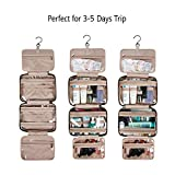 BAGSMART Toiletry Bag Travel Bag with hanging