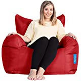 Big Bertha Original Beanbag co - Giant Armchair Outdoor / Indoor Bean Bag - RED by Big Bertha Original
