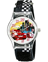 Kids' W001970 Cars Analog Black Watch