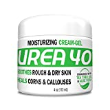 Urea Cream 40 | Corn and Callus Remover, Skin Exfoliator and Urea Moisturizer Cream