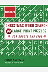 Funster Christmas Word Search 101 Large-Print Puzzles for Adults and Kids: Exercise your brain and fill your heart with Christmas spirit Paperback