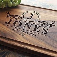 Personalized Cutting Board, Custom Keepsake, Engraved Serving Cheese Plate, Wedding, Anniversary, Engagement, Housewarming, Birthday, Corporate, Closing Gift #202