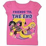 Disney Girls' Tangled Rapunzel Short Sleeve T-Shirt