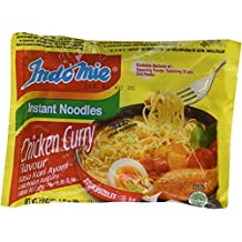 Indomie CHICKEN CURRY 100% HALAL Kari Ayam 2.82oz (80g), Case Pack 30 by OKAYA RAMEN