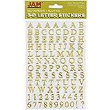 JAM PAPER Self Adhesive Alphabet Letter Stickers