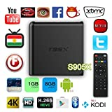 T95X Internet TV Box Amlogic S905X Android 6.0 Wifi 1080P 3D Home Theater