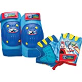 Bell Sports Thomas The Train and Friends Protective Gear Pad & Glove Set, Blue